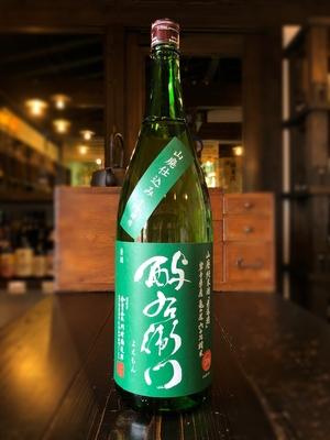 酉与右衛門 山廃純米酒 亀の尾60 緑 1800ml