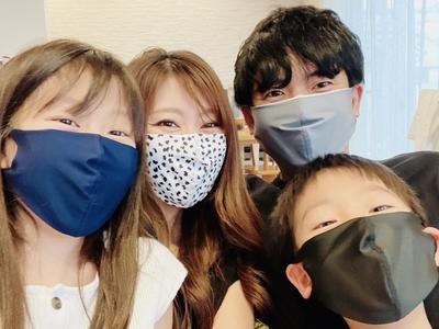 【しよう会 会員様特別価格】 洗える水着の布マスク 無地 UVカット効果 マスクフィルターを入れるポケット付き 抗菌裏地使用