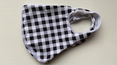 【AD柄】Mサイズのみ 洗える水着の布マスク UVカット効果 マスクフィルターを入れるポケット付き