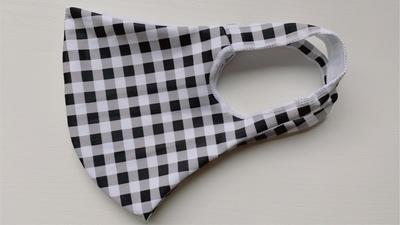 【LE柄】Lサイズのみ 洗える水着の布マスク UVカット効果 マスクフィルターを入れるポケット付き