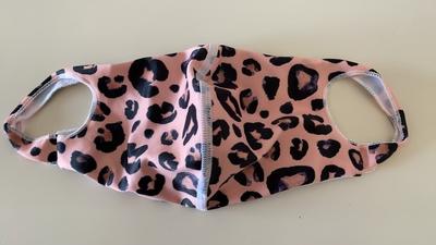 水着生地マスク 【M柄】Mサイズのみ 洗って使えるマスク UVカット効果 マスクフィルターを入れるポケット付き