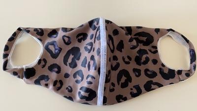 水着生地マスク 【N柄】Mサイズのみ 洗って使えるマスク UVカット効果 マスクフィルターを入れるポケット付き