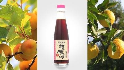 【湯浅醤油】柚梅つゆ200ml濃縮3倍◆醤油発祥の地◆