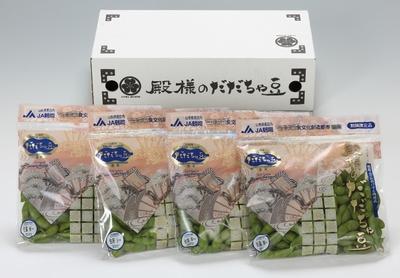 【全国送料無料】殿様のだだちゃ豆(生) 250g×4袋