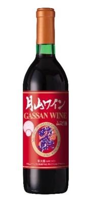 月山ワイン 山ぶどう酒 (甘口) 720ml
