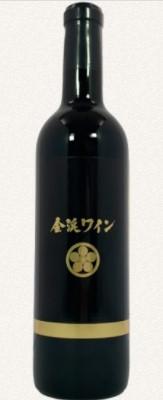金渓ワイン 友弥ノート 酸化防止剤無添加 マスカットベーリーA種 720ml