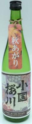 【9月1日発売】小国桜川 純米酒 出羽の里 720ml
