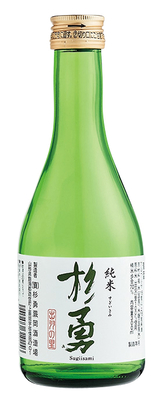 No.318 杉勇蕨岡酒造場 出羽の里純米酒 杉勇 300ml
