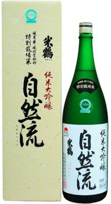 米鶴 純米大吟醸 自然流 1800ml