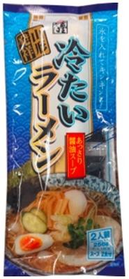 みうら食品 そば屋の中華冷たいラーメン 256g×10(1箱)