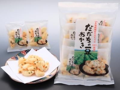 だだちゃ豆 おかき(8袋入) ×20個(1箱)