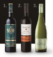 世界で高評価を獲得したワイン 高評価赤白3本セット 通常¥6,500→特別価格5,000円(税抜)