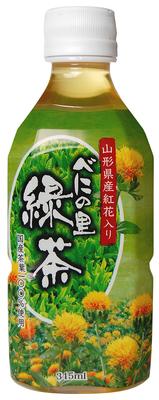 丸菱食品 べにの里緑茶 紅花入り PET 345ml×24本