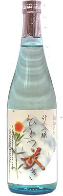 【5/1発売予定】加茂川 純米吟醸 ひとつ咲き 720ml