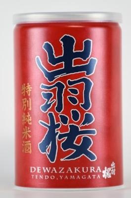 【4月26日 新発売!】出羽桜 特別純米酒 缶 180ml