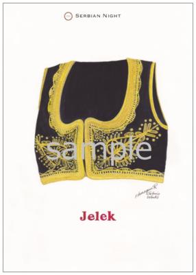 Original Postcard 民族衣装シリーズ【Jerek】