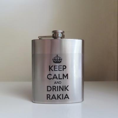 セルビア|スキットル|辛口ジョーク(Keep Calm And Drink Rakia)|207ml