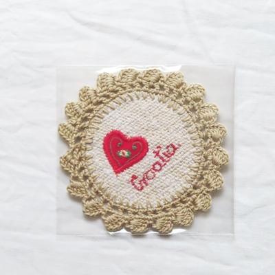 クロアチア|コースター|刺繍(CROATIA)