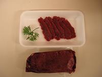 馬刺し(赤身)約600g冷凍 カナダ、ポーランド産