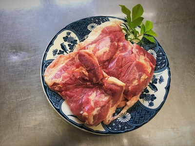 信濃地鶏モモ肉(冷凍)約750g