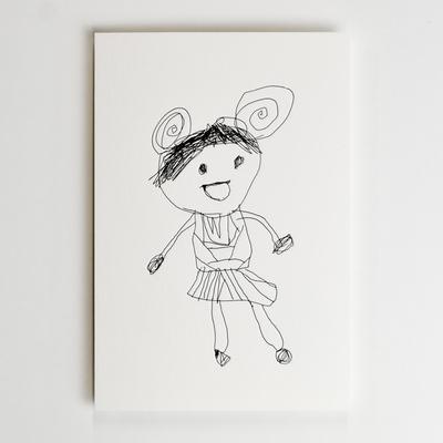ポストカード/リリトルアーティストコレクション01