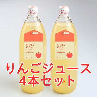 【GO-4】りんごジュース4本セット