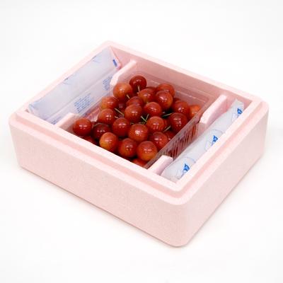【PS-11】特選 佐藤錦・バラパック詰 約500g 保冷容器