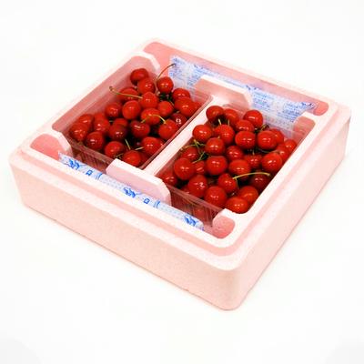 【PS-12】特選 佐藤錦・バラパック詰 約1kg(約500g×2)保冷容器