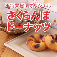 【GO-20】さくらんぼドーナッツ10個セット