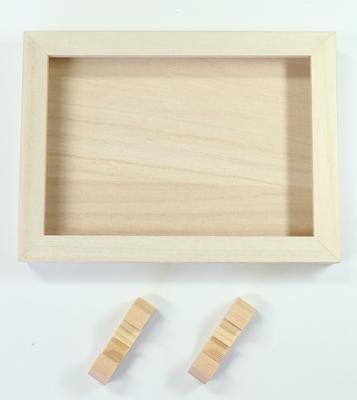 【朱印帳用木箱】 朱印帳を収納して飾れる桐木箱 (足付)