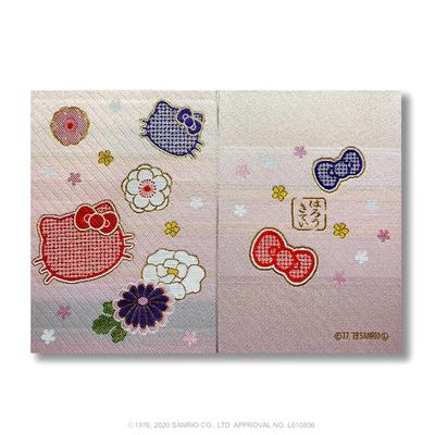 【サンリオキャラクター朱印帳】ハローキティ朱印帳 しぼり 間紙3枚入り