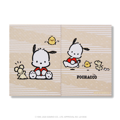 【サンリオキャラクター朱印帳】ポチャッコ朱印帳 お友だち 間紙3枚入