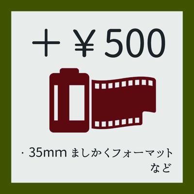 【  追加料金 】¥500