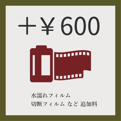 【 追加料金 】¥600