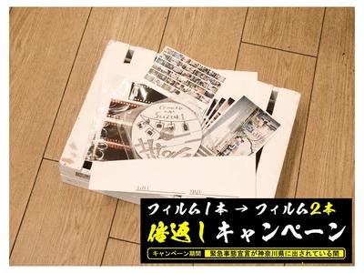 【 倍返しキャンペーン 】35mm カラーネガ現像 + データ化 + プリント ※ 光沢紙のみ