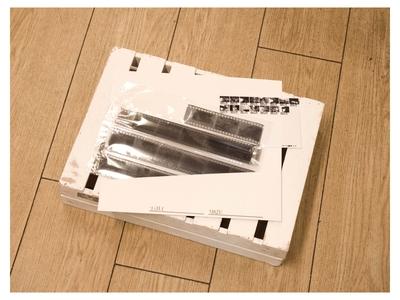 【 35mm 】モノクロネガ 現像のみ
