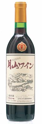 月山ワイン -オリジナル赤-(720㎖・辛口)