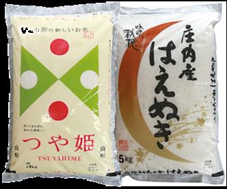 【食べ比べセット】つや姫・はえぬき(各5kg)