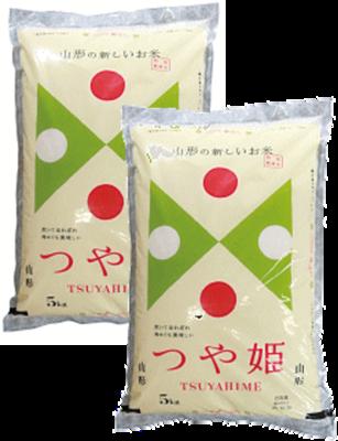 つや姫10kg(5kg×2袋・精米)