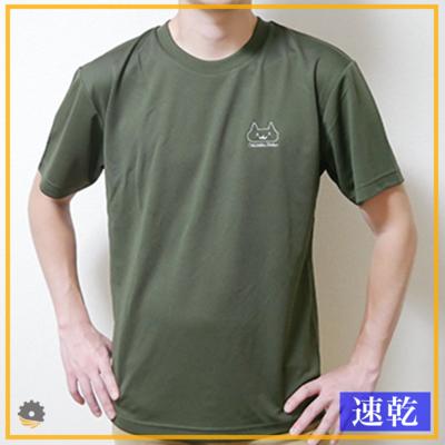 おそらくネコTシャツ OD (速乾)