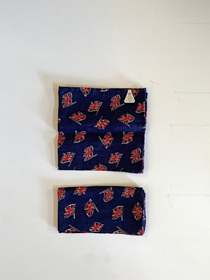 no.3250 Union Flag Linen Handkerchief
