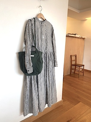 no.4460 HICKORY FRONT OPEN DRESS  Sサイズ