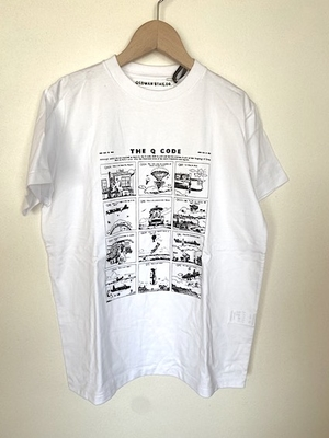 OMT AW530 Q CODE半袖 Tシャツ 34サイズ