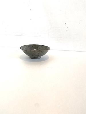 小山乃文彦 灰釉茶碗