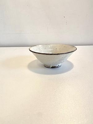 小山乃文彦 粉引平茶碗