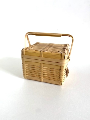 鹿児島白竹お弁当箱 正方形