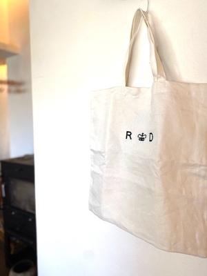 R&D.M.Co- LINEN DENIM TOTE BAG