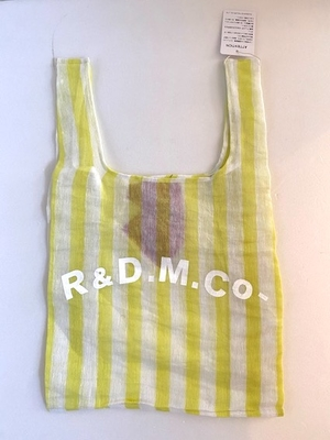 R&D.M.Co-  STEEL LINEN SUPERMARKET BAG  yellow