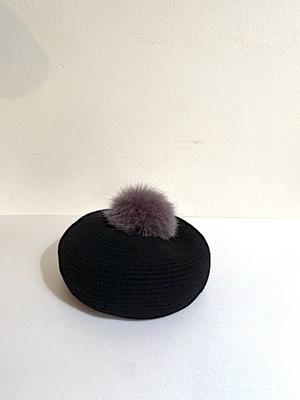 mature ha.  MKF-2115PN beret with pen  black