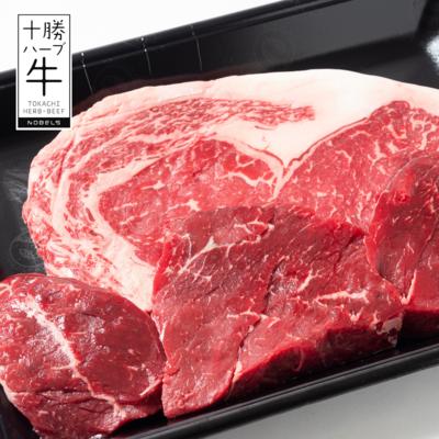 十勝ハーブ牛キング&クイーンペアステーキセット500g【冷凍】会員価格10,368円(税込)